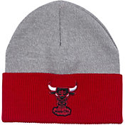 Mitchell & Ness Men's Chicago Bulls Cuffed Knit Beanie