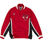 Mitchell & Ness Men's Chicago Bulls Authentic Warm Up Jacket
