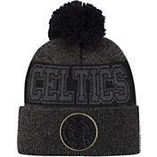 Mitchell & Ness Men's Boston Celtics Pom Cuffed Knit Beanie