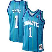 Mitchell & Ness Men's Charlotte Hornets Baron Davis #1 Swingman Jersey
