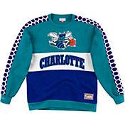 Mitchell & Ness Men's Charlotte Hornets Scorer Crew Neck Sweatshirt
