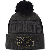 Mitchell & Ness Men's Charlotte Hornets Pom Cuffed Knit Beanie