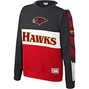 Mitchell & Ness Men's Atlanta Hawks Scorer Crew Neck Sweatshirt