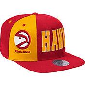 Mitchell & Ness Men's Atlanta Hawks Hexagon Adjustable Snapback Hat