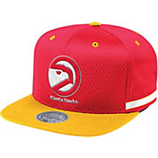 Mitchell & Ness Men's Atlanta Hawks Woven Adjustable Snapback Hat