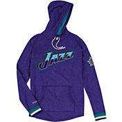 Mitchell & Ness Men's Utah Jazz Long Sleeve Hooded T-Shirt