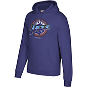 Mitchell & Ness Men's Utah Jazz Hardwood Classic Fleece Pullover Hoodie