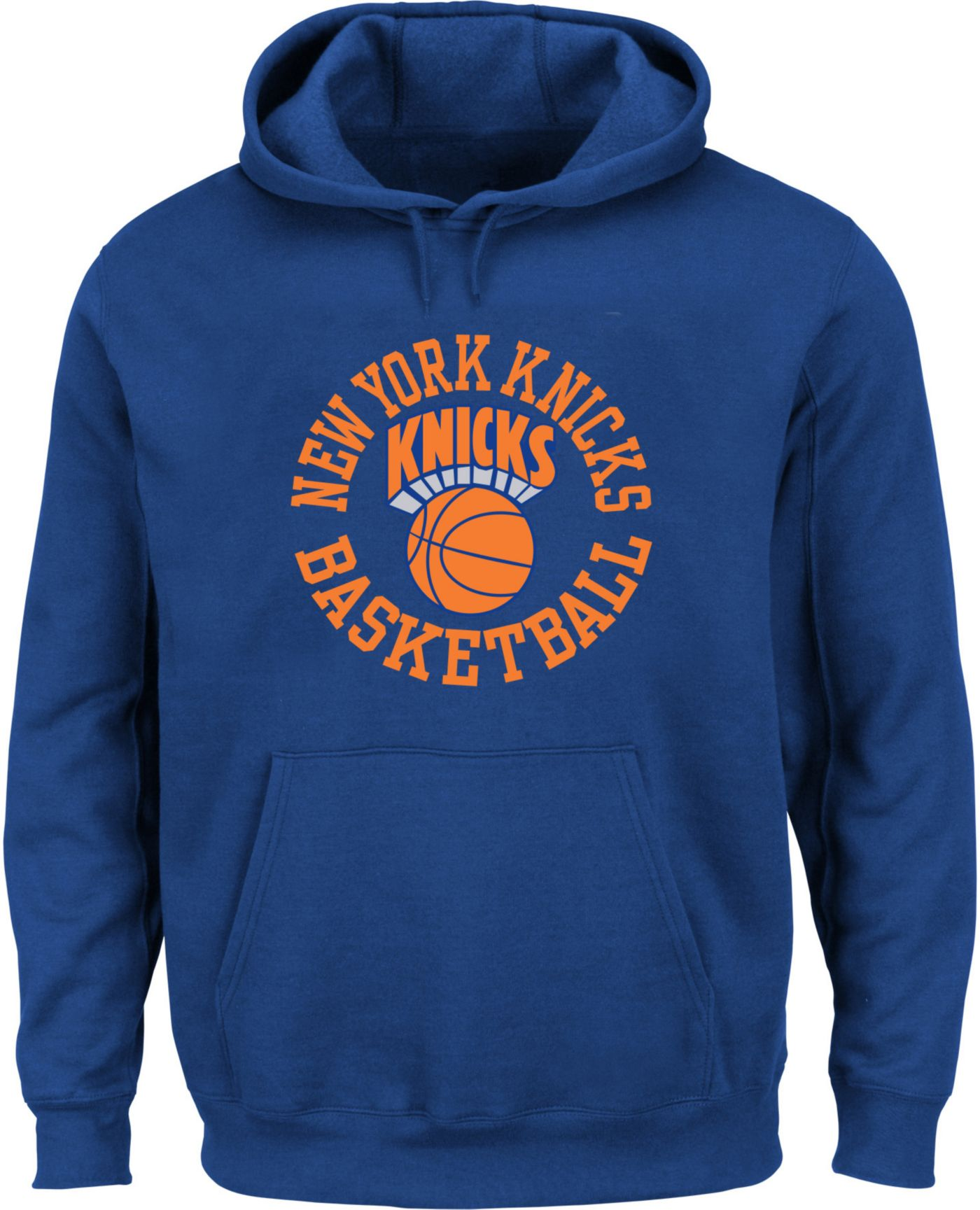 Mitchell & Ness Men's New York Knicks Fleece Pullover Hoodie