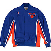 Mitchell & Ness Men's New York Knicks Authentic Warm Up Jacket