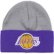 Mitchell & Ness Men's Los Angeles Lakers Cuffed Knit Beanie