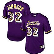 Mitchell & Ness Men's Los Angeles Lakers Magic Johnson #32 Retro Mesh Jersey