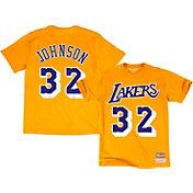 Mitchell & Ness Men's Los Angeles Lakers Magic Johnson #32 T-Shirt