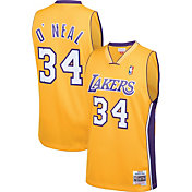 Mitchell & Ness Men's Los Angeles Lakers Shaquille O'Neal #34 Swingman Jersey