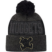 Mitchell & Ness Men's Denver Nuggets Pom Cuffed Knit Beanie