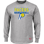 Mitchell & Ness Men's Indiana Pacers Long Sleeve Logo T-Shirt