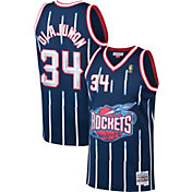 Mitchell & Ness Men's Houston Rockets Hakeem Olajuwon #34 Swingman Jersey