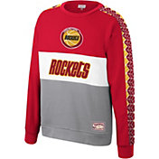 Mitchell & Ness Men's Houston Rockets Scorer Crew Neck Sweatshirt