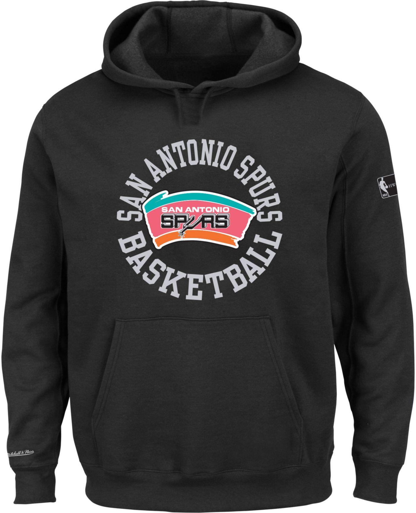Mitchell & Ness Men's San Antonio Spurs Fleece Pullover Hoodie