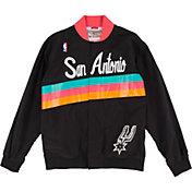 Mitchell & Ness Men's San Antonio Spurs Authentic Warm Up Jacket