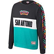 Mitchell & Ness Men's San Antonio Spurs Scorer Crew Neck Sweatshirt