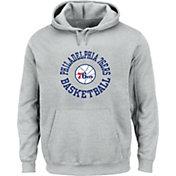 Mitchell & Ness Men's Philadelphia 76ers Fleece Pullover Hoodie