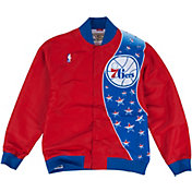 Mitchell & Ness Men's Philadelphia 76ers Authentic Warm Up Jacket