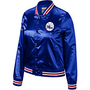 Mitchell & Ness Women's Philadelphia 76ers Satin Jacket