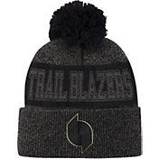 Mitchell & Ness Men's Portland Trail Blazers Pom Cuffed Knit Beanie
