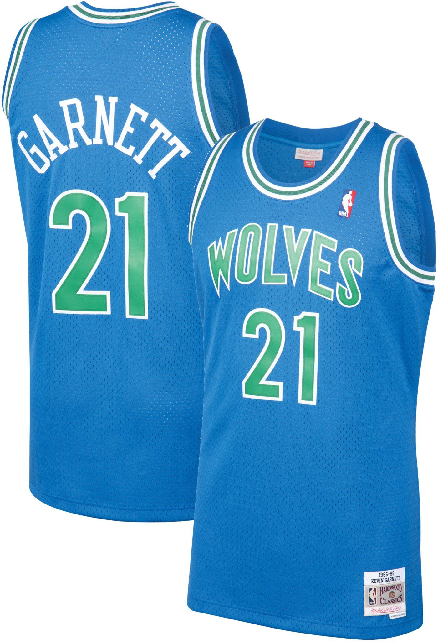 Mitchell & Ness Men's Minnesota Timberwolves Kevin Garnett #21 Swingman Jersey