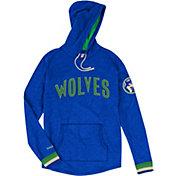 Mitchell & Ness Men's Minnesota Timberwolves Long Sleeve Hooded T-Shirt