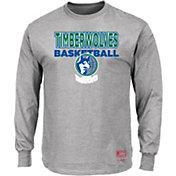 Mitchell & Ness Men's Minnesota Timberwolves Long Sleeve Logo T-Shirt