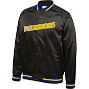 Mitchell & Ness Men's Golden State Warriors Satin Jacket