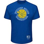 Mitchell & Ness Men's Golden State Warriors Logo T-Shirt