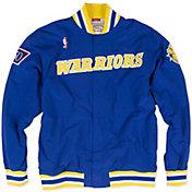 Mitchell & Ness Men's Golden State Warriors Authentic Warm Up Jacket
