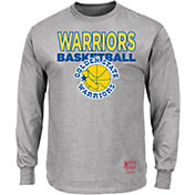 Mitchell & Ness Men's Golden State Warriors Long Sleeve Logo T-Shirt