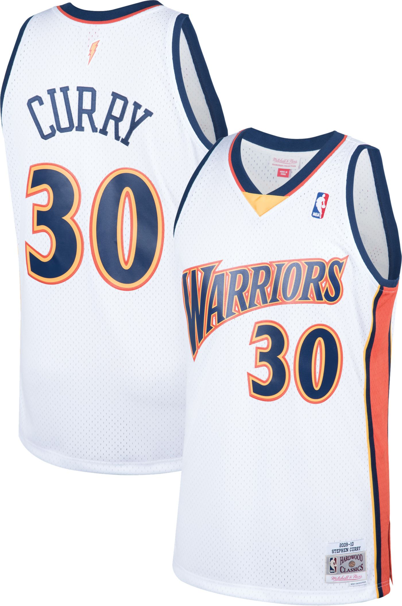 Mitchell & Ness Men's Golden State Warriors Stephen Curry #30 Swingman Jersey
