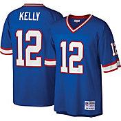 Mitchell & Ness Men's 1990 Game Jersey Buffalo Bills Jim Kelly #12