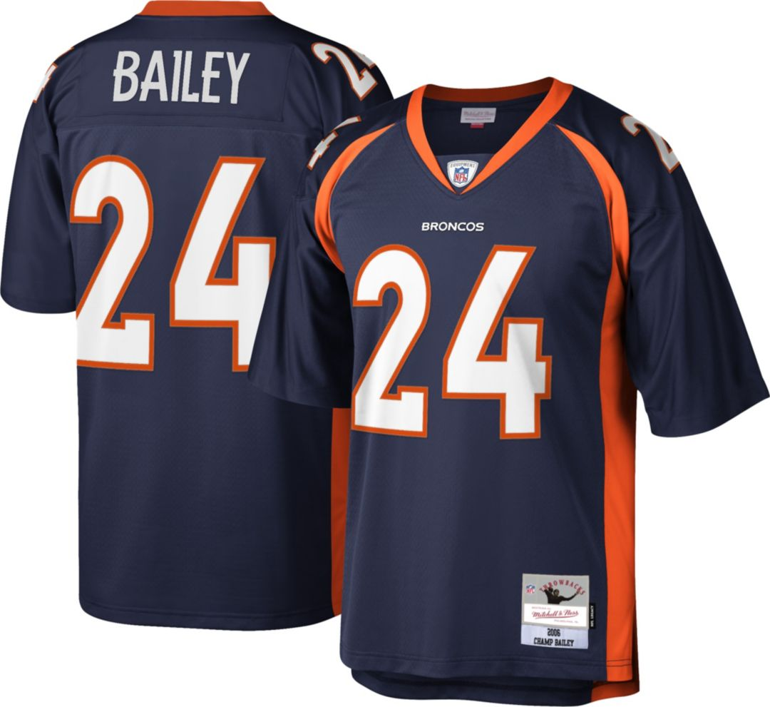 hot sale online 13bfc 7c7fd Mitchell & Ness Men's 2006 Home Game Jersey Denver Broncos Champ Bailey #24