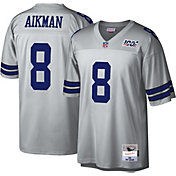 Mitchell & Ness Men's 1992 Platinum Jersey Dallas Cowboys Troy Aikman #8