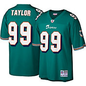 Mitchell & Ness Men's 2006 Game Jersey Miami Dolphins Jason Taylor #99