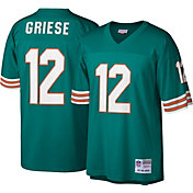 Mitchell & Ness Men's 1972 Game Jersey Miami Dolphins Bob Griese #12