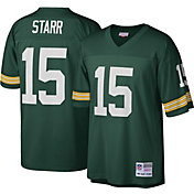 Mitchell & Ness Men's 1969 Game Jersey Green Bay Packers Bart Starr #15