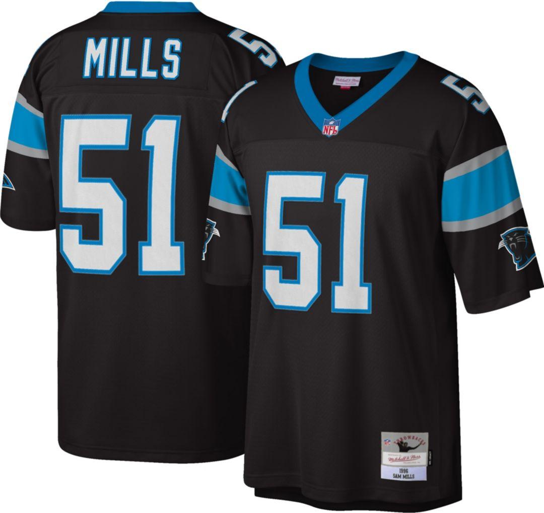 sale retailer 2673f 11cda Mitchell & Ness Men's 1996 Game Jersey Carolina Panthers Sam Mills #51