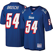 Mitchell & Ness Men's 1996 Game Jersey New England Patriots Tedy Bruschi #54