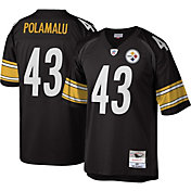 Mitchell & Ness Men's 2005 Game Jersey Pittsburgh Steelers Troy Polamalu #43