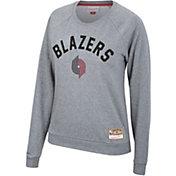 Mitchell & Ness Women's Portland Trail Blazers Fleece Crew Neck Sweatshirt