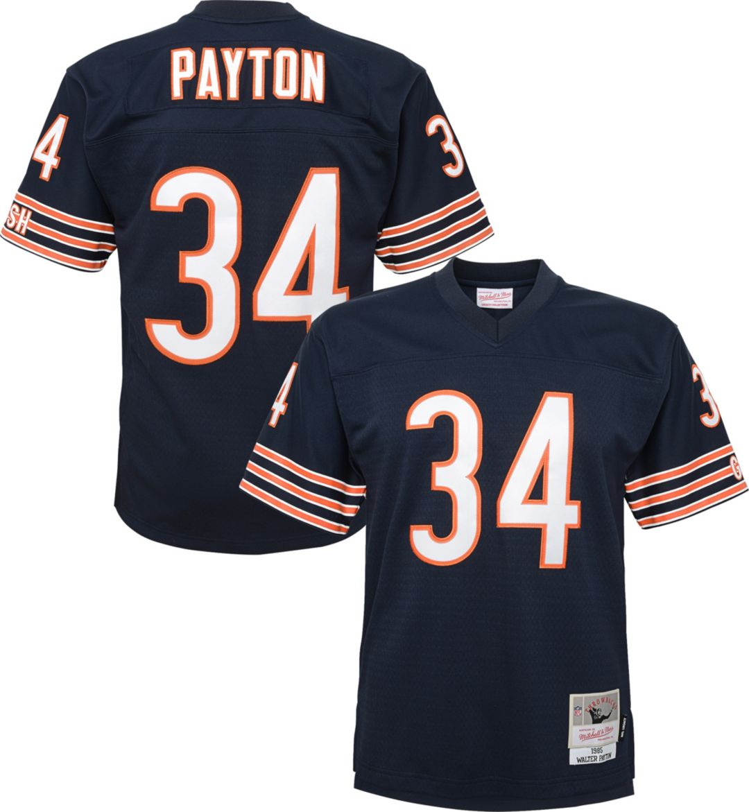 san francisco 718b2 f51bc Mitchell & Ness Youth 1985 Game Jersey Chicago Bears Walter Payton #34