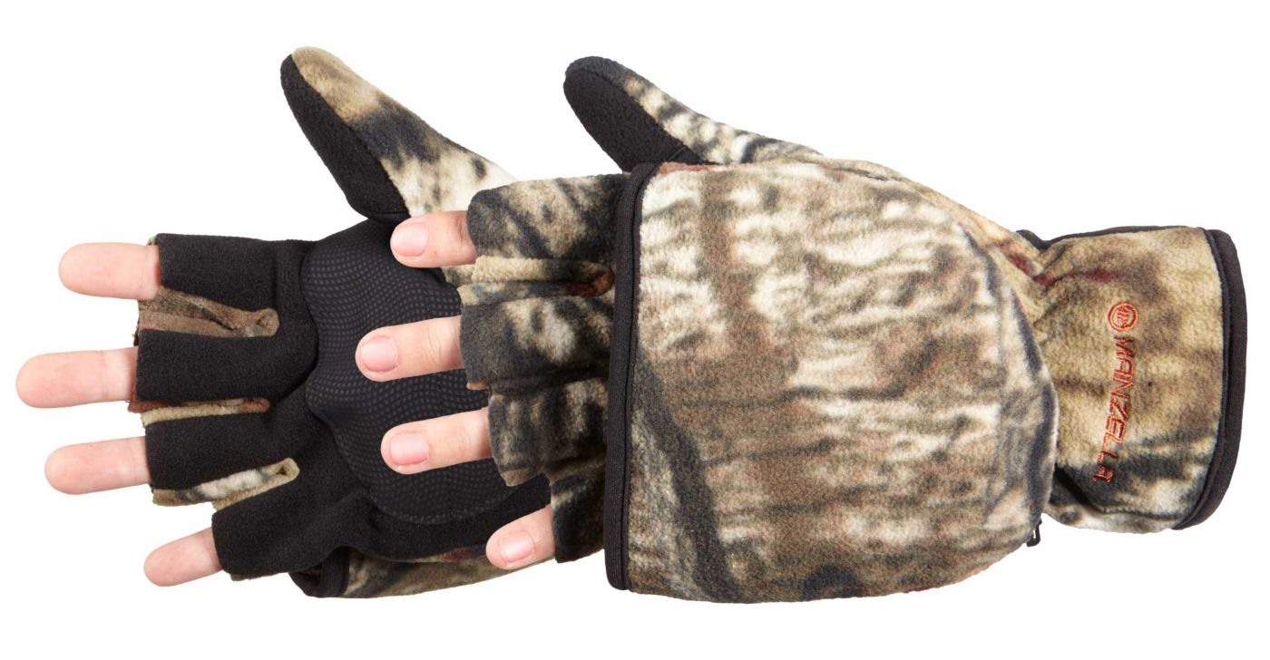Manzella Men's  Bow Hunter Convertible Glove