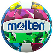 Molten Neon Camo Recreational Volleyball