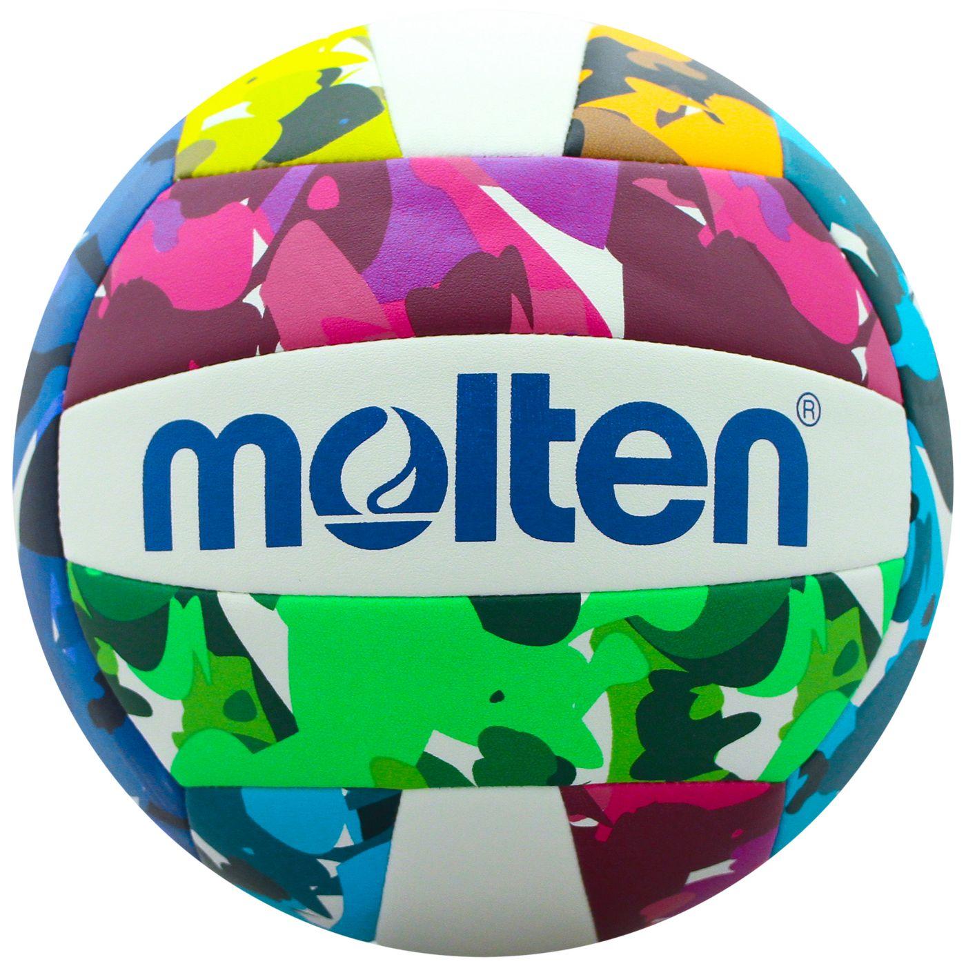 Molten Neon Camo Recreational Volleyball